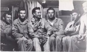 Billet mates, Maui, 1944