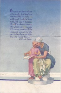 Mother's Day church bulletin cover, 1944