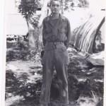 Harold Moss in Saipan, 1944