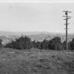 Escondido from Howell Heights, February 1942