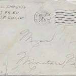 Original 11 August 1945 envelope