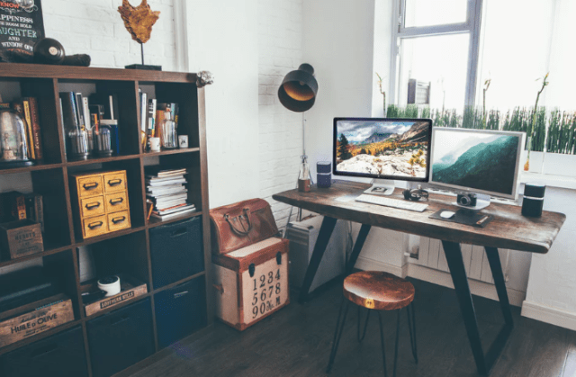 increase productivity with a home office