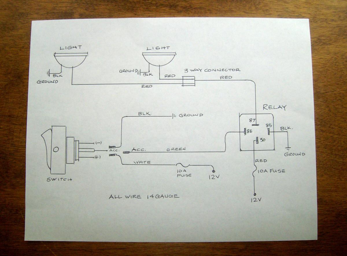 utv fog light wiring diagram wiring diagram