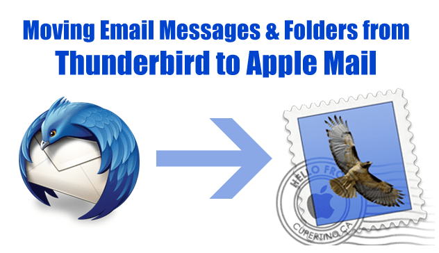 Thunderbird to Apple Mail