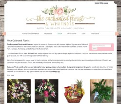 The Enchanted Florist & Whatnots