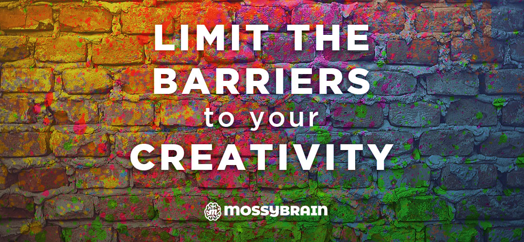 Limit the Barriers to Your Creativity