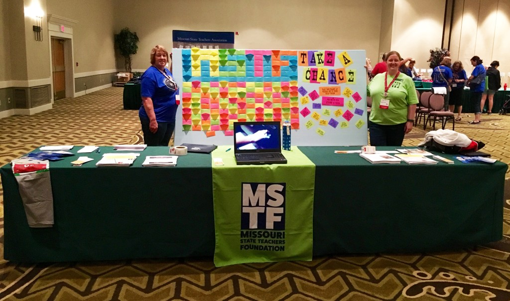 MSTF Fundraiser at MSTA Leadership Symposium Raises over $1,000