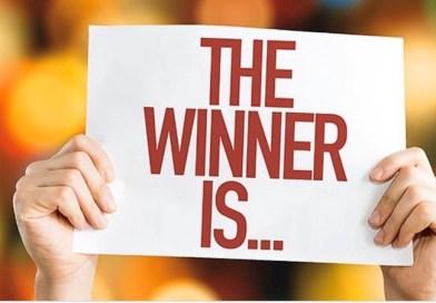 Grattis till vinnarna!!!!
