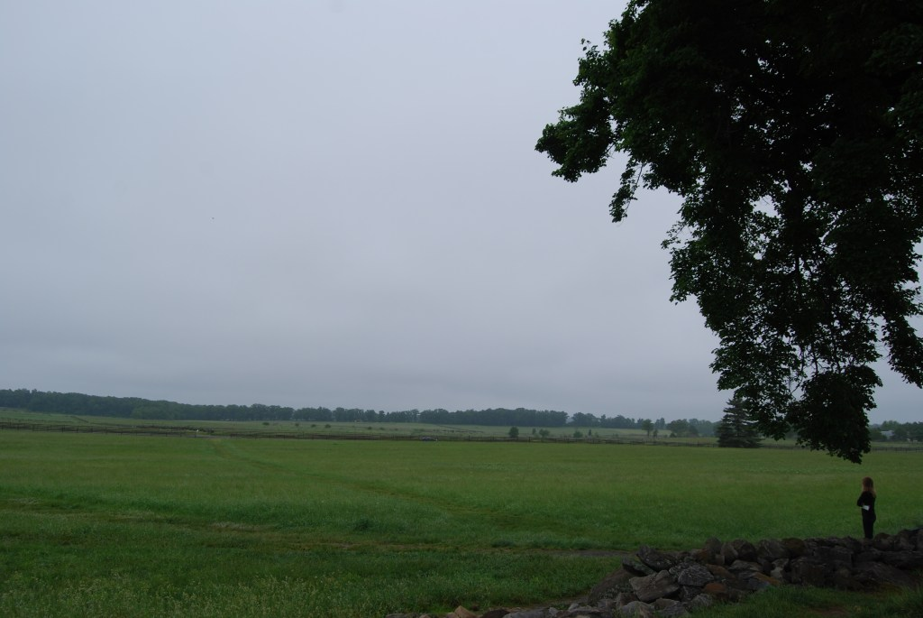 Gettysburg on Memorial Day -Picketts Charge