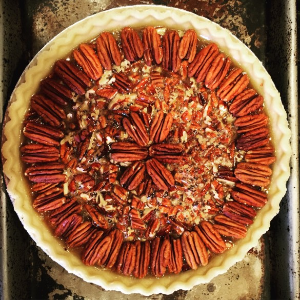 Pecan pie - Sunday morning coffee weekly recap and menu plan