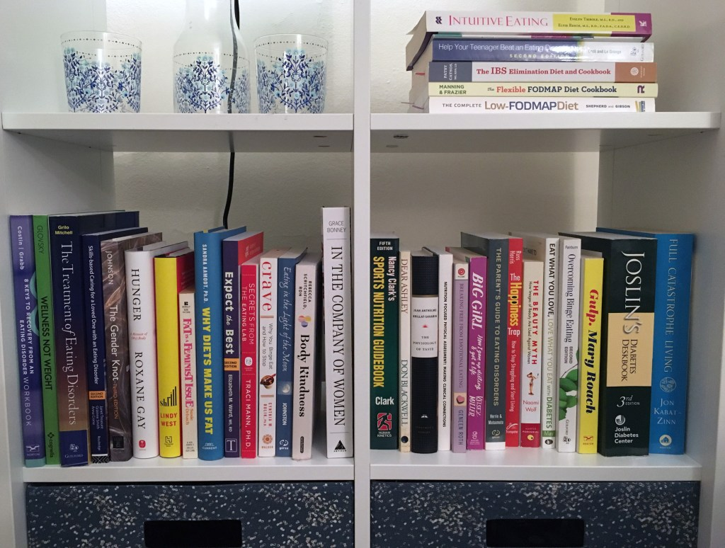 Office Shelfie NonDiet Dietitian