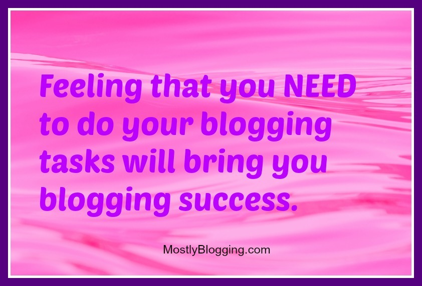 Being focused and driven will bring you successful blogging.