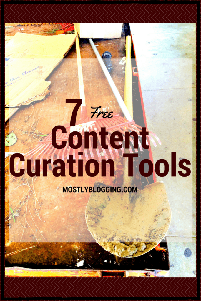 Content Curation Tools help #bloggers by saving and promoting their blog posts. #blogging