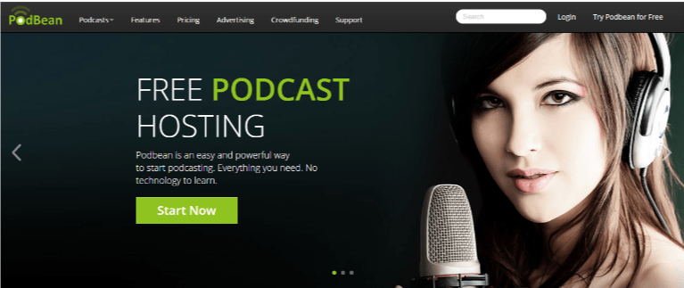 Podbean helps #bloggers with podcasts