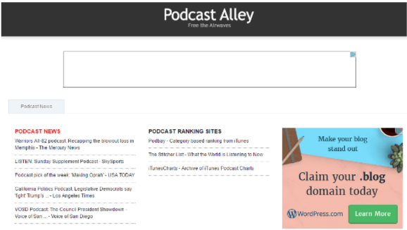 PodcastAlley helps #bloggers with blogging