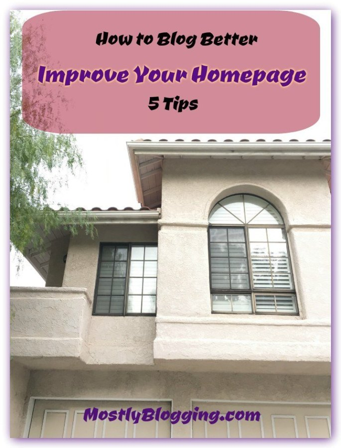 You can spruce up your blog's homepage and capture #emails and #MakeMoneyOnline