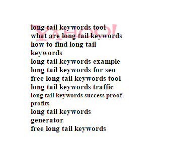 Soovle helps #bloggers find long tail keywords #SEO