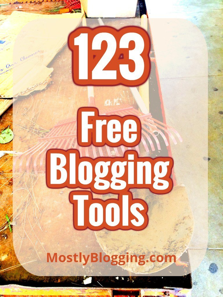 123 of the Best Free Blogging Tools that Will Save You Time Blogging