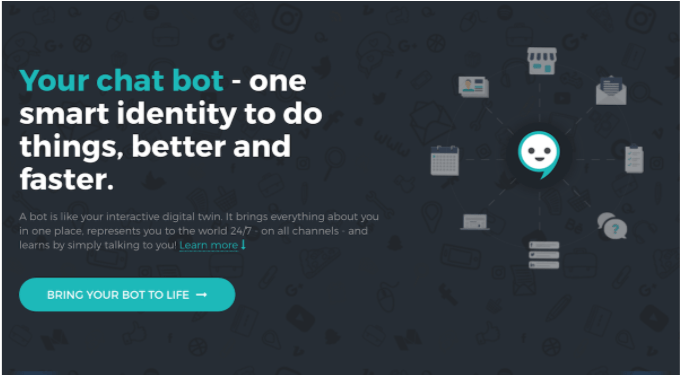 Let a chatbot greet your guests and make your sales