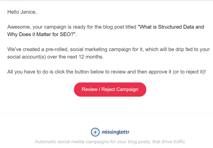 Missinglettr helps bloggers with social media promotion