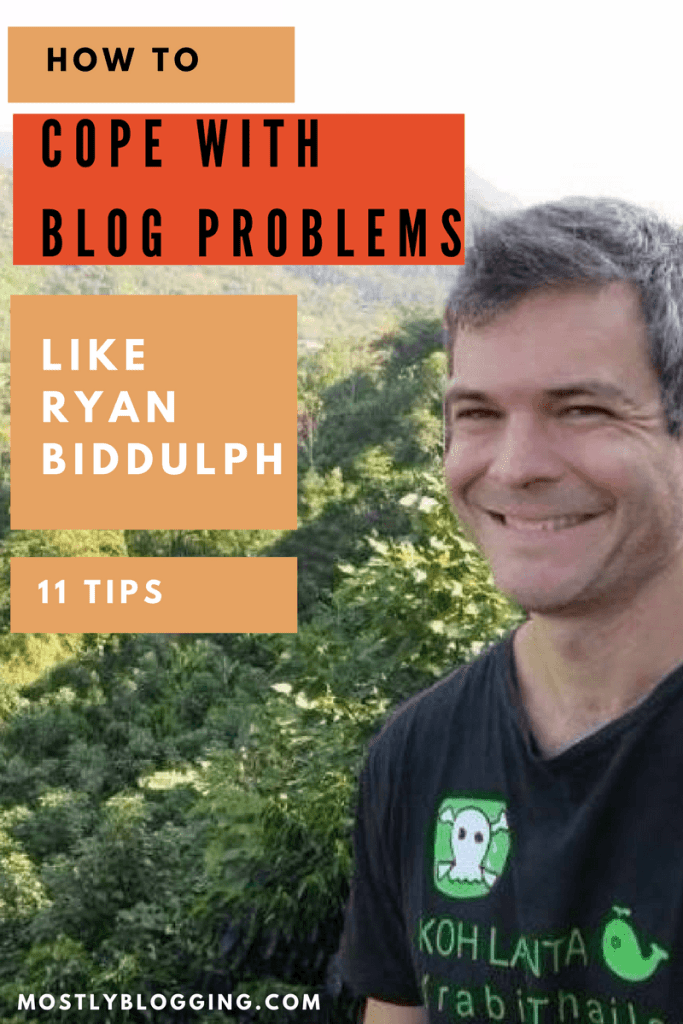 Blogging problems don't need to be a crisis