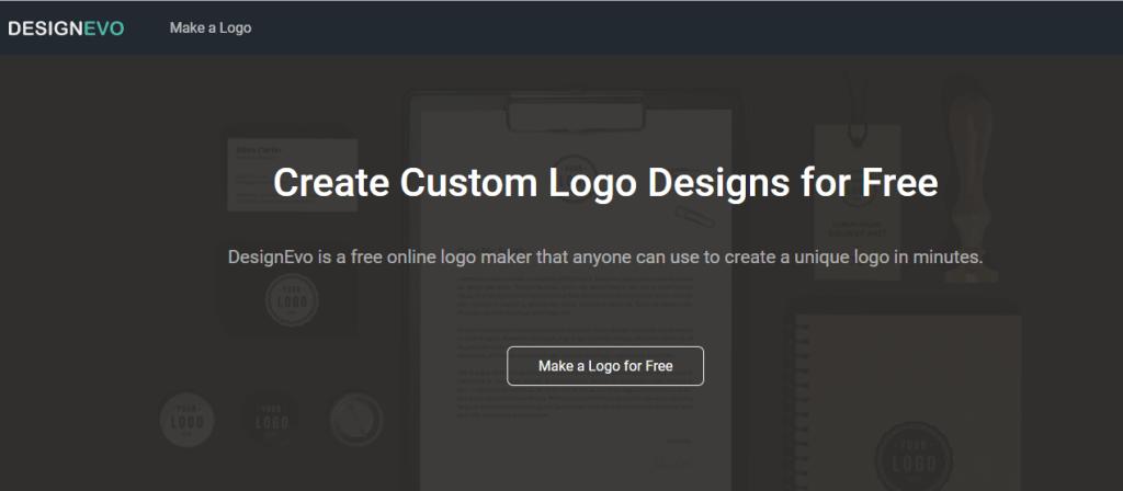 DesignEvo logo designer
