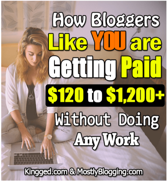 Bloggers are getting paid