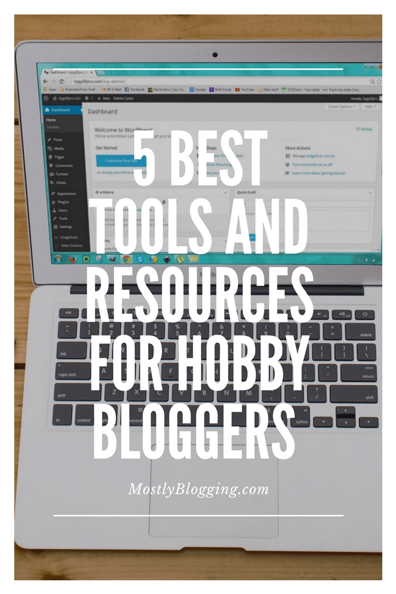 5 of the Best Free Hobby Bloggers' Resources and Tools