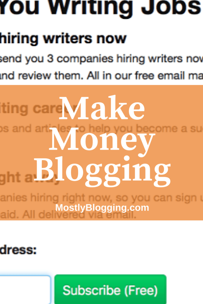 How to Make Money with a Blog: Easily Get Your First Paycheck