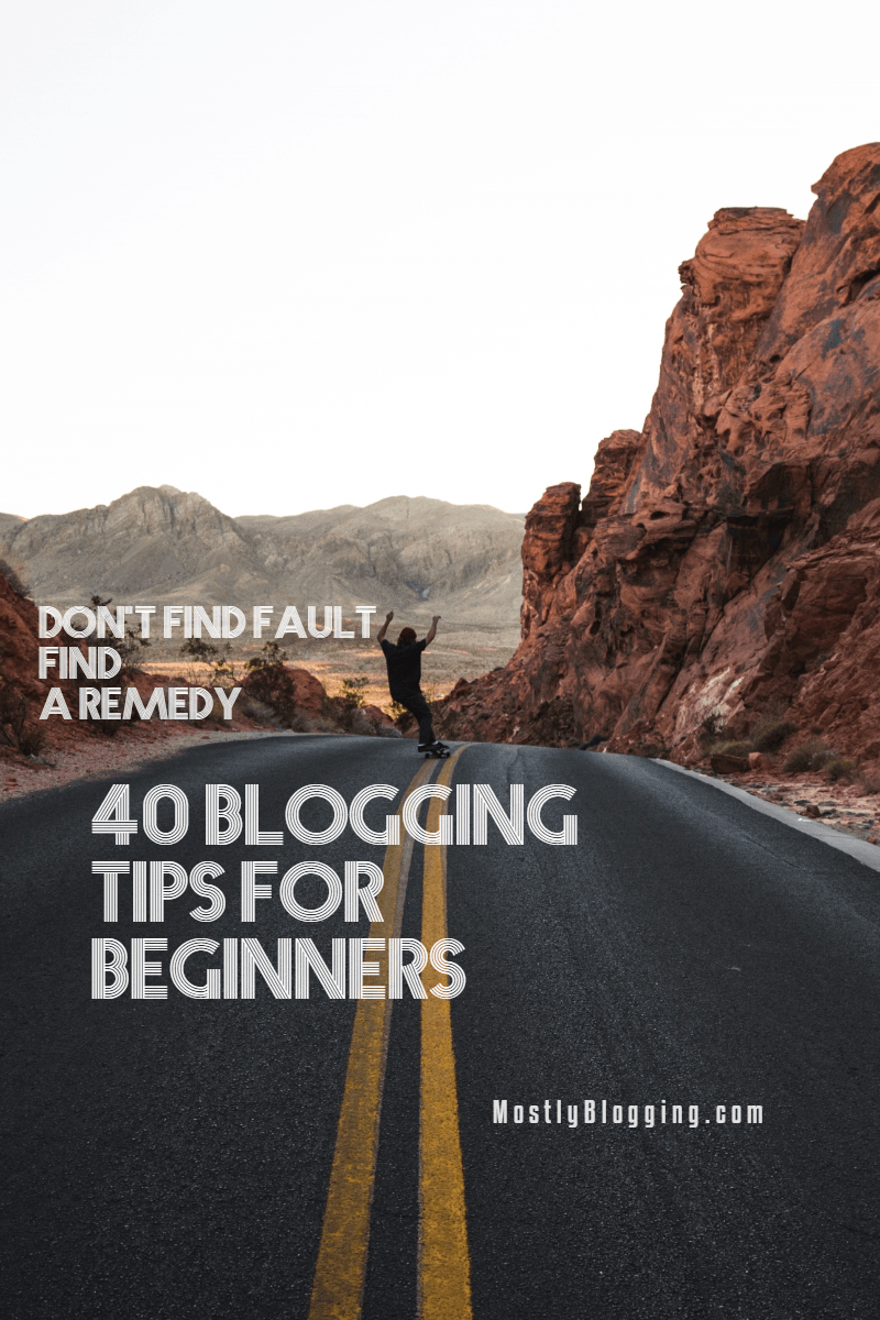 Blogging Tips - Cover