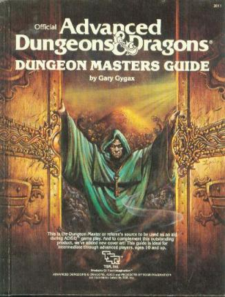 AD&D 1st Edition Dungeon Master Guide