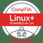 LinuxPlus Certified Logo