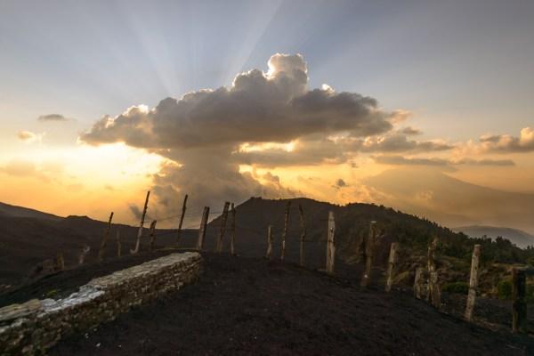 Sunset on Pacaya