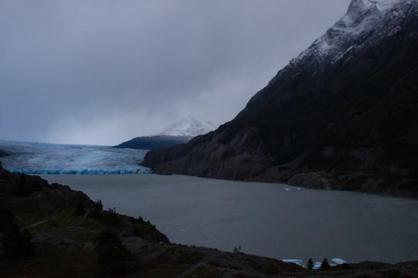 Glacier Grey in the distance