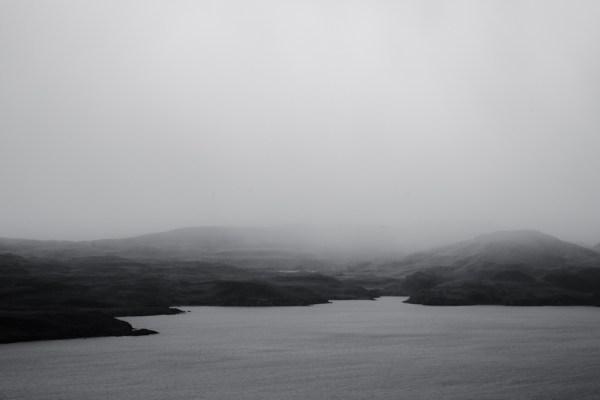 Fog over Lake Nordenskjold