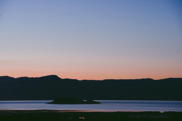 Calafate sunset, first night.