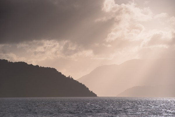 Sunset on the fjords