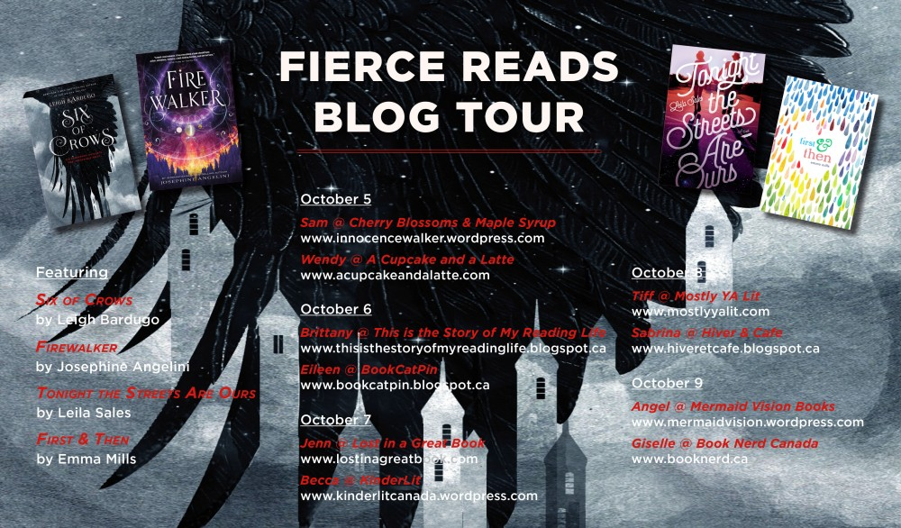 GIVEAWAY & Book Reviews: Fierce Reads 2015 Blog Tour!