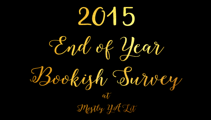 2015 End of Year Bookish Survey