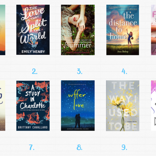 #TopTenTuesday: 2016 Debut Books!