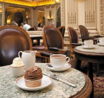 Angelina Cafe in Paris