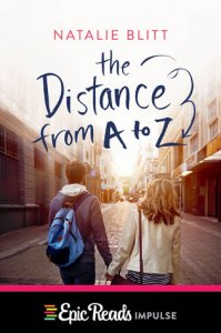 The Distance from A to Z by Natalie Blitt Book Cover
