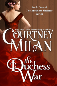 The Duchess War cover by Courtney Milan