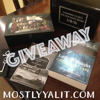 Lady Midnight giveaway book US/CAN only mostlyyalit.com