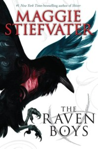 The Raven Boys cover by Maggie Stiefvater