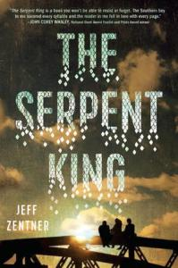 The Serpent King book cover by Jeff Zentner