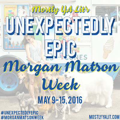 What Do Morgan Matson Books Mean To You? | Giveaway | #UnexpectedlyEpic #MorganMatsonWeek