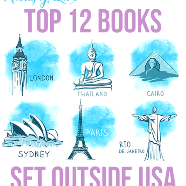 12 Books Set Outside USA | Top Ten Tuesday