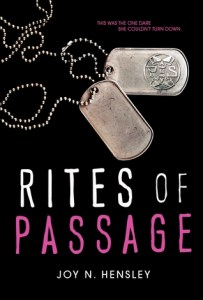 Rites of Passage by Joy N Hensley book cover
