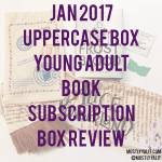 January 2017 Uppercase Box | Book Subscription Box Review!